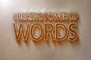 Creative Power of Words