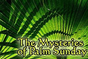 Mysteries of Palm Sunday